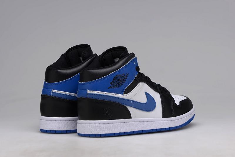 Nike Jordan 1 Retro Noir Et Bleu High Magasin Jordan Retro 1 Air ...