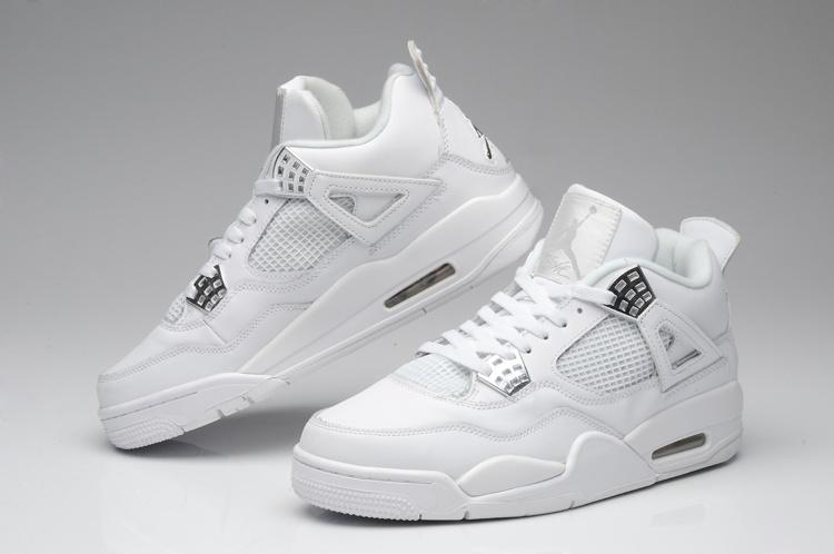 in stock wholesale dealer buy good Nike Jordan 4 Femme Blanc Acheter Nike Air Jordan Nike Air Jordan ...