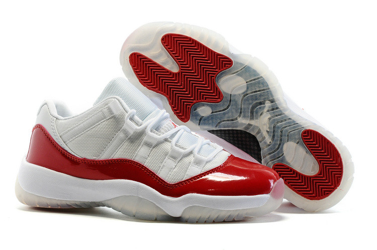 air jordan 11 retro low rouge et blanc