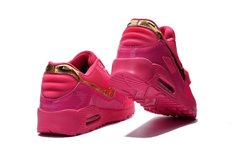 nike air max 90 fille rose