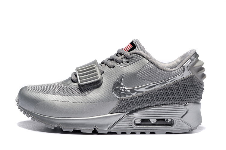 air max 90 fille grise