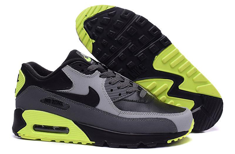 nike air max 90 homme noir et gris et vert chaussure nike air max pas cher  homme Air Max 90 Blanche