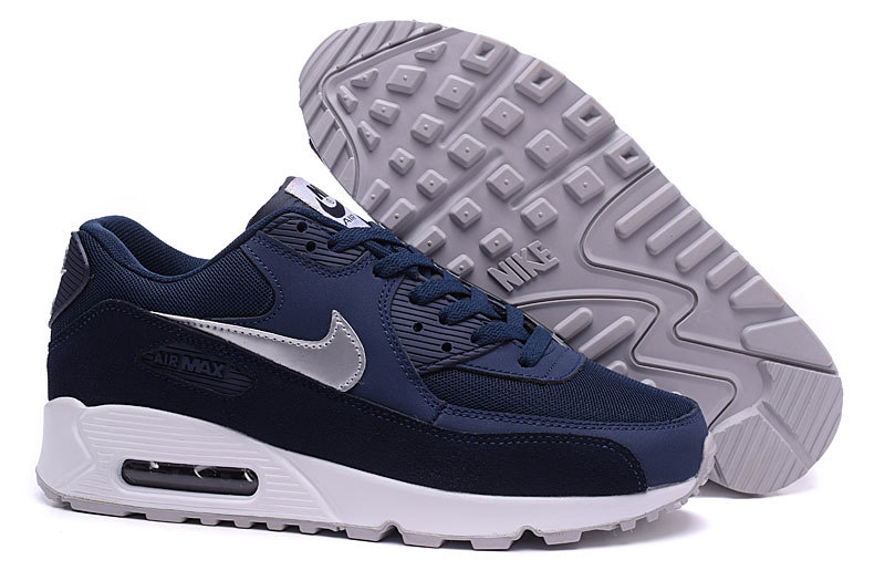 basket air max bleu blanc